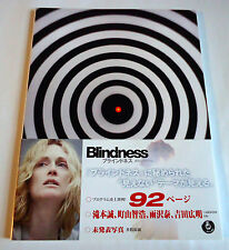 BLINDNESS JAPAN MOVIE PROGRAM BOOK 2008 w/OBI Fernando Meirelles Julianne Moore