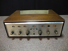Scott Stereomaster 299-D Tube Amplifier with wood cabinet