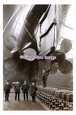 rs0157 - Cunard Liner - Mauretania , built 1907 - photograph