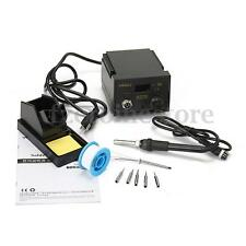 937D+ SMD 220V 75W Soldering Iron Station Welding Tool Stand Digital Display ESD