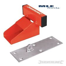 Silverline up and over Garage Door Defender Heavy Duty lock stopper 538487