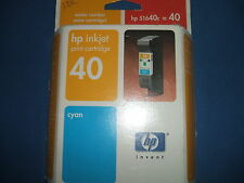 HP 40 51640ce Cyan Ink Cartridge (Out of Date)
