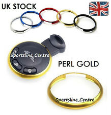 Gold Anodizing Keyring Decor Key Fob Replacement Trim Ring BMW Mini Cooper pg