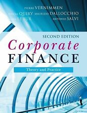 Corporate Finance: Theory and Practice 2E by Vernimmen