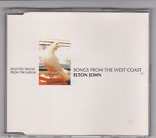 Elton John - Songs From The West Coast Promo - CD (EJWCCJ1 2001 6 Track)