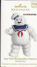 2012 Hallmark Ghostbusters Stay Puft Marshmallow Menace Magic Dated Ornament