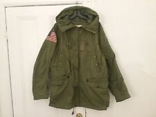 Ralph Lauren Denim Supply flag patch Army Jacket! sz L. Super Rare Cool