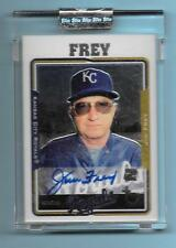2005 Topps Retired Signature Jim Frey Autograph Royals