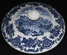 Enoch Wedgwood Royal Homes of Britain Blue Vegetable Lid Only