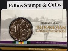 2016 RAM 50 cent UNC Coin - Australia at War - Indonesian confrontation