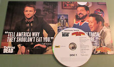 TALKING DEAD + COMIC BOOK MEN~RARE 2015 FYC DVD~ROBERT KIRKMAN, EMILY KINNEY