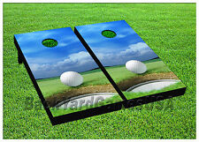 VINYL WRAPS Cornhole Boards DECALS BagToss Game Stickers 865