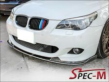 04-10 BMW E60 E61 M-Tech & M-Sport Only Front Carbon Fiber Bumper Lip