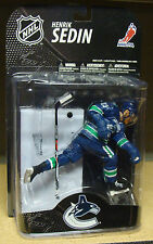 Henrik Sedin Vancouver Canucks blue NHL Canadian exclusive series 2 McFarlane