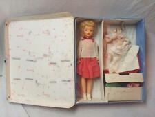 Original TAMMY Doll BS-12 with Case & Signed Clothes, Accessories. Ideal Toy. NR