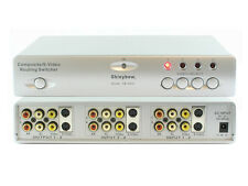 4x2 (4:2) Composite RCA S-Video with Audio A/V Routing Switcher Splitter SB-5430