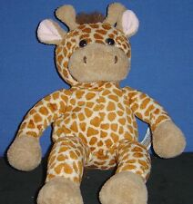 """Plush Stuffed 14"""" Light Brown Giraffe by Animal Alley - pre-owned (THE)"""
