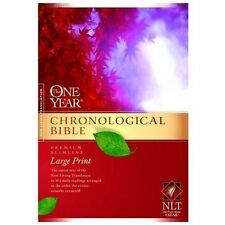 The One Year Chronological Bible NLT, Premium Slimline Large Print (2010,...