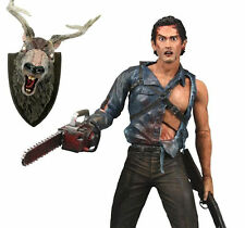 NECA FIGURE EVIL DEAD 2 MOVIE ASH THE HERO LA CASA 2 NEW in BLISTER!! DEADITE