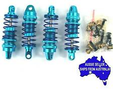 Blue alloy 55mm shock set for Tamiya TT02 1:10 RC car & others HPI etc