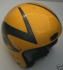 Camau System R102 Cool Color Yellow Ski Helmet Made In Italy Size Large/XL