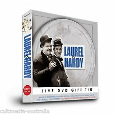 LAUREL AND HARDY ULTIMATE RARE FILMS COLLECTION NEW 5 DVD 6 MOVIES R4 GIFT PACK
