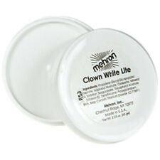 Mehron Clown White Lite Professional Clown & Mime Makeup Face Body Paint 2 oz.