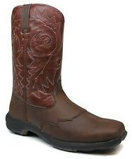 Durano Head West Square Toe Rebel Lite Western Cowboy Work Mens Boots 9 M