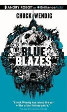 The Blue Blazes by Chuck Wendig (2013, MP3 CD, Unabridged)