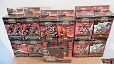 World of Warcraft Miniatures: Core Set + 10 Booster Boxes (34 Figures Total)