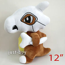"Pokemon Cubone #104 Plush Soft Toy Stuffed Animal Doll Teddy Figure 12"" NWT"