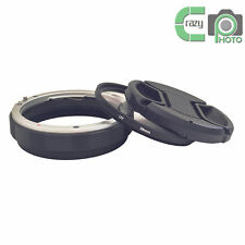 Canon EOS Metal Rear Lens Reverse Protection Ring+58mm UV Filter+58mm Lens Cap