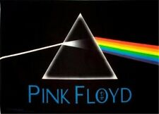 "Pink Floyd The Dark Side of the Moon Poster 36""x24"" Rock n Roll Hippie Biker"