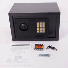 "New 12"" Electronic Safe Box Digital Security Keypad Lock Office Home Hotel Black"