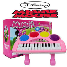 DISNEY MINNIE MOUSE KIDS ELECTRONIC PIANO KEYBOARD ORGAN EDUCATION MUSICAL TOY
