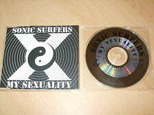 Sonic Surfers - My Sexuality (CD) 4 Tracks - Nr Mint - Fast Postage - Rare