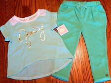 JUICY COUTURE KIDS GIRLS BRAND NEW GOLD LOGO DRESS LEGGING SET Size 2T, NWT