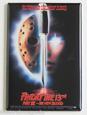 Friday the 13th Part 7 FRIDGE MAGNET (2 x 3 inches) movie poster new blood