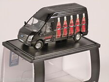 FORD Transit Lwb COCA COLA / coke zero in nero una scala modello OXFORD pressofusione