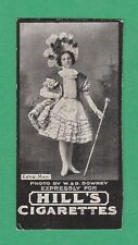 R.  &  J.  HILL  LTD. -  RARE ACTRESS BELLE OF NEW YORK CARD -  EDNA  MAY - 1899