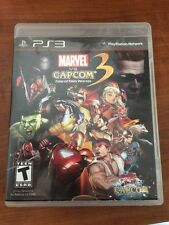 Marvel vs. Capcom 3: Fate of Two Worlds - (PlayStation 3, 2011) with manual