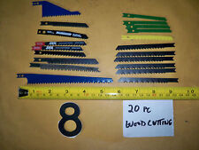 20   JIG SAW BLADE  U SHANK ASSORTMENT