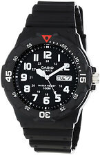 Casio Analogue Sport 100m WR Day and Date Neo Display Watch MRW-200H-1BV NEW