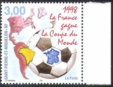 St Pierre & Miquelon 1998 Football/Sport/WC/Games/Soccer/Maps 1v (n30962)