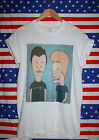 BEAVIS AND BUTTHEAD T-SHIRT // MTV 90s HIPSTER RETRO GRUNGE // FREE P&P