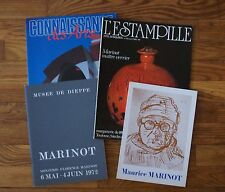 MAURICE MARINOT - RARE ENSEMBLE D'OUVRAGES
