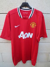 Maillot MANCHESTER UNITED 2012 NIKE shirt Red Devils jersey football AON XL