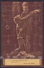 EZIO ANICHINI INFERNO DIVINA COMMEDIA Divine Comedy DANTE DANTESCA Cartolina 23c