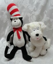 Dr Seuss Nevins & Cat in the Hat Suess Dog Kohls Cares for Kids Dreamworks Plush