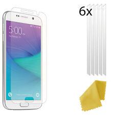 6 X Plastica Trasparente Screen Guard PROTEGGI LCD per Samsung Galaxy S6